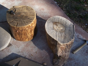 More tree stumps comming up