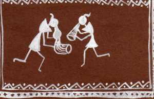 Warli -Thank you card